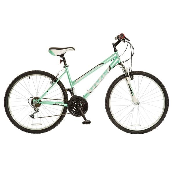 Titan Women's Pathfinder Mint Green 18-speed Suspension Mountain Bike