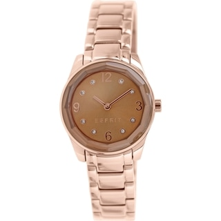 Esprit Women's ES106552006 Rose Gold and Stainless Steel Analog Quartz Watch