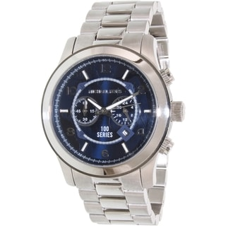 Michael Kors Women's Hunger Stop MK8314 Blue/Silver Stainless Steel Quartz Watch