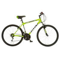 Titan Men's Pathfinder Key Lime Green 18-speed Suspension Mountain Bike