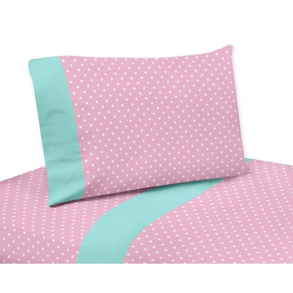 Sweet Jojo Designs Skylar Collection 4-piece Sheet Set - Pink