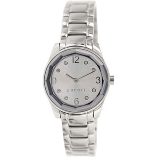 Esprit ES106552005 Silvertone Stainless Steel Analog Quartz Women's Watch