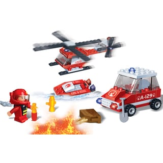 BanBao 8129 Firefighter Toy Building Blocks