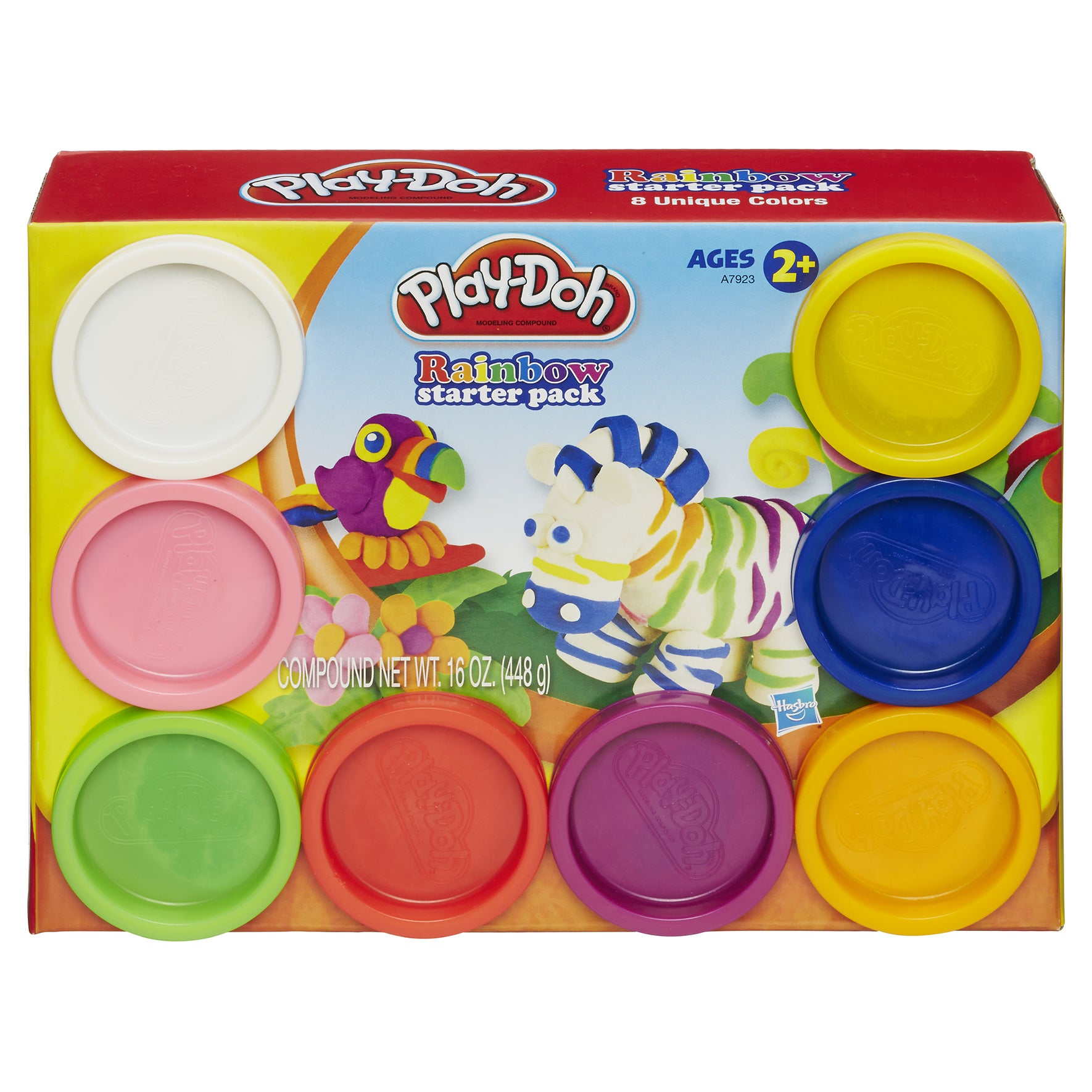 Play-Doh A7923 Play-Doh Rainbow Starter Pack Assorted Col...