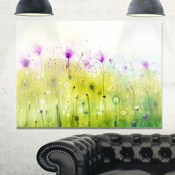 Unique Purple Abstract Wall Art Ensign - Wall Art Collections ...