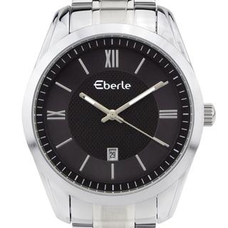 Eberle Dormer Men's classic dress watch, vintage style dial, Miyota movement