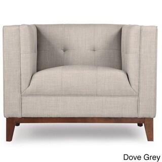 Kardiel Harrison Mid-Century Modern Loft Tailored Twill Club Chair