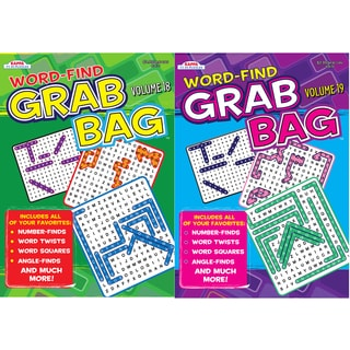 Kappa Publication 3470 Word-Find Grab Bag Assorted Volumes