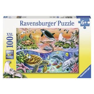 "Ravensburger 10681 19.5"" X 14.25"" Beautiful Ocean Puzzle 100 Pieces"