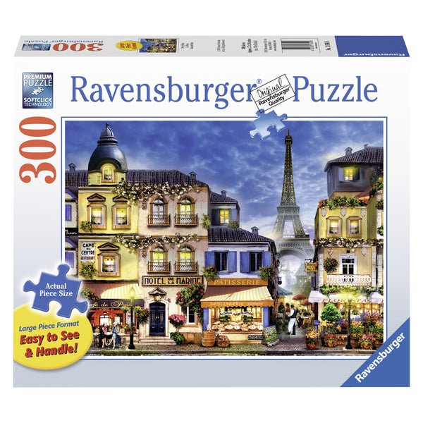 "Ravensburger 13560 27"" X 30"" Paris Puzzle 300 Pieces"