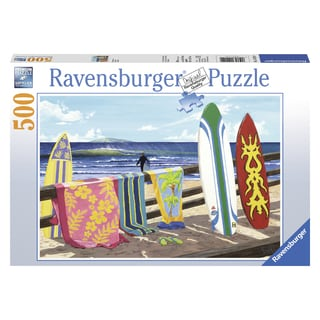 "Ravensburger 14214 19.5"" X 14.25"" Hang Loose Puzzle 500 Pieces"