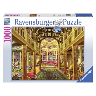"Ravensburger 19155 27"" X 20"" World Of Words Puzzle 1000 Pieces"