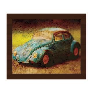 Vintage Car Framed Canvas Wall Art