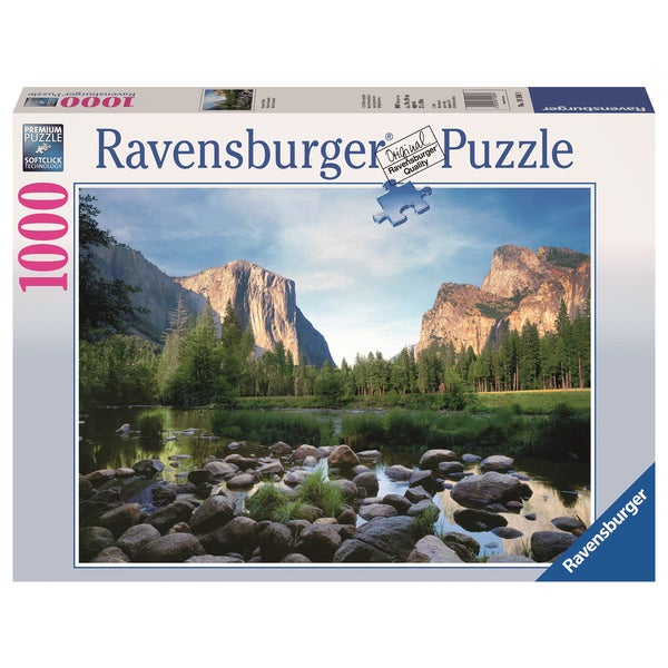 "Ravensburger 19206 27"" X 20"" Yosemite Valley Puzzle 1000 Pieces"