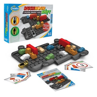 Think Fun 5060-WLD Rush Hour Puzzle Game