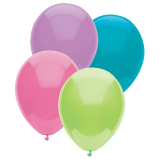 "Pioneer National Latex 55236 12"" Pastel Balloons Assorted"