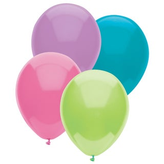 """Pioneer National Latex 55236 12"""" Pastel Balloons Assorted"""