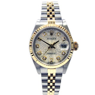 Pre-owned 26mm Rolex Two-tone Datejust
