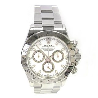 Pre-owned 40mm Rolex Stainless Steel Daytona
