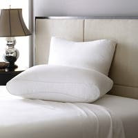 LC Modern Classics Lux-Loft Infinity Gusset Pillow (Set of 2) - White