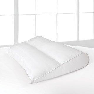 LC Modern Classics Teardrop Memory Fiber Fill Pillow - White