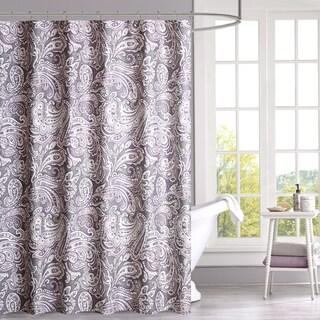 Purple Shower Curtains - Overstock.com - Vibrant Fabric Bath Curtains