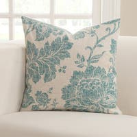 Everbloom Floral Accent Pillow