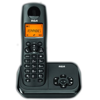 RCA DECT 6.0 Black Cordless Phone System with Answering Machine|https://ak1.ostkcdn.com/images/products/12778676/P19552160.jpg?_ostk_perf_=percv&impolicy=medium