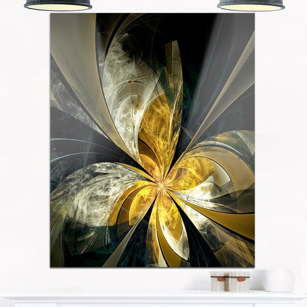 White And Gold Wall Decor