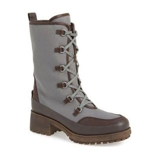 Lucky Brand Women's Alascan Faux Fur Lined Lace-up Waterproof Cold Weather Boots