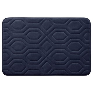 Turtle Shell Memory Foam 17 x 24-inch Bath Mat with BounceComfort Technology