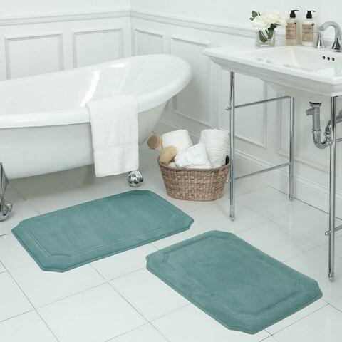 Walden Memory Foam 17 x 24-inch 2-piece Bath Mat Set with BounceComfort Technology