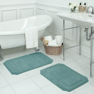 Walden Memory Foam 17 x 24-inch 2-piece Bath Mat Set with BounceComfort Technology