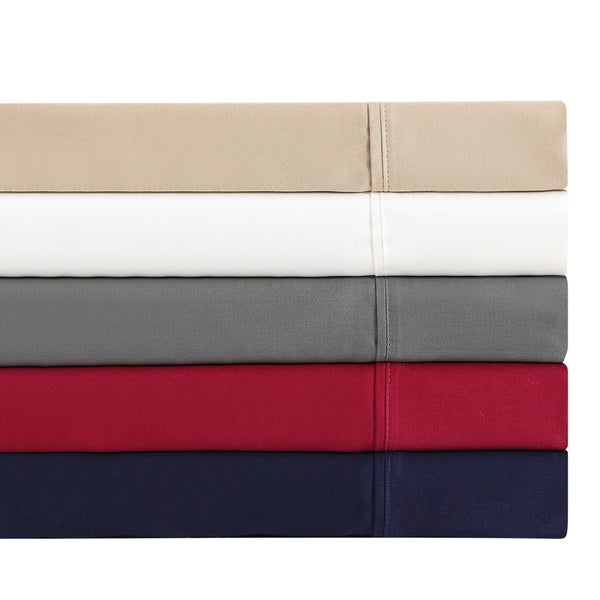 """Vince Camuto 300 Thread Count """"Supremely Soft Finish"""" Solid Sheet Set"""