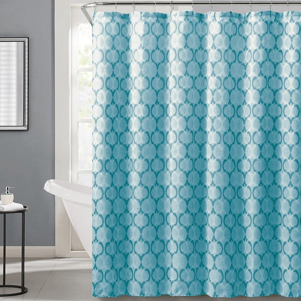 Logan by Artisitc Linen Easy To Hang Shower Curtain