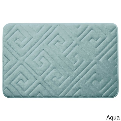 Caicos Memory Foam 20 x 32-inch Bath Mat with BounceComfort Technology