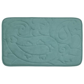Pelton Micro Plush 20 x 32-inch Memory Foam Bath Mat with BounceComfort Technology