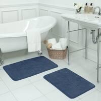 Reve Micro Plush 20 x 32-inch Memory Foam Bath Mat with BounceComfort Technology