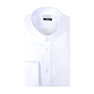 Versace Collection Solid Trend Fit Dress Shirt