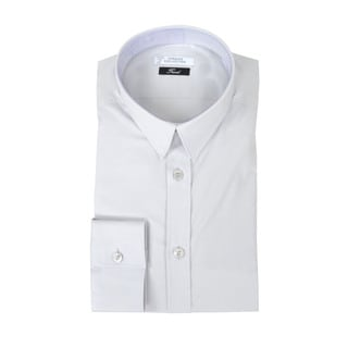 Versace Collection Trend Fit Solid Dress Shirt