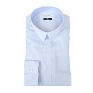 Versace Collection Light Blue Trend Fit Dress Shirt