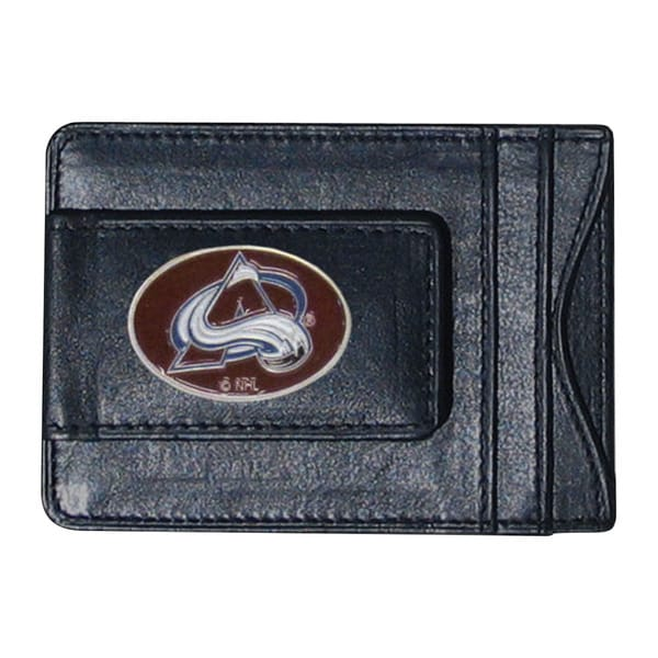 NHL Colorado Avalanche Leather Cash and Cardholder
