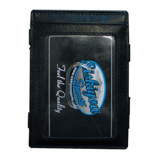NHL Sports Team Logo Florida Panthers Leather Jacob's Ladder Wallet