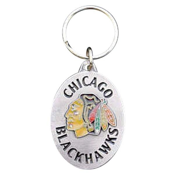 NHL Sports Team Logo Chicago Blackhawks Key Ring