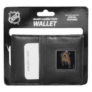 Jacob's Ladder NHL Sports Team Logo Anaheim Ducks Leather Wallet