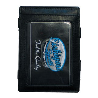 Minnesota Wild Black Leather Jacob's Ladder Wallet