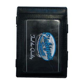 NHL New York Rangers Black Leather Sports Team Logo Jacob's Ladder Wallet