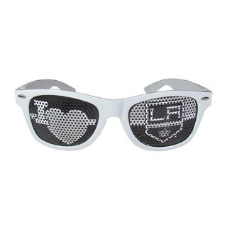 NHL Los Angeles Kings Sports Team Logo White 'I Heart Game Day' Shades