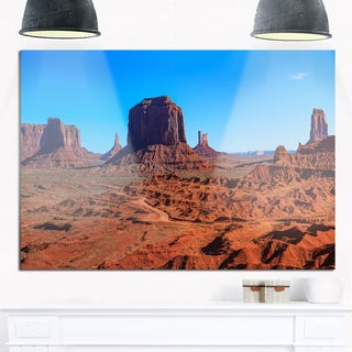Monument Valley National Park - Landscape Glossy Metal Wall Art