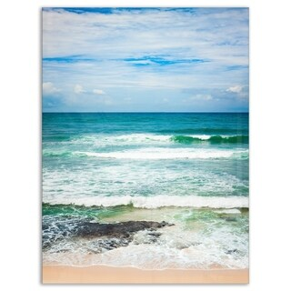 Indian Ocean - Seascape Photography Glossy Metal Wall Art